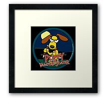 Puppy The Vampire Slayer Framed Print