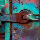 Train Door Latch by gary becker