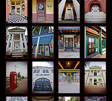 The Doors of Oxford, Mississippi by markyac