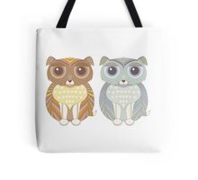 Two Fluffy Dogs Tote Bag