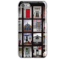 The Doors of Clarksdale, Mississippi iPhone Case/Skin