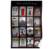 The Doors of Clarksdale, Mississippi Poster