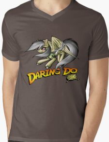 Daring Do Mens V-Neck T-Shirt
