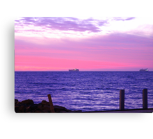 Two Tankers! Canvas Print