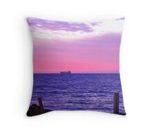 Two Tankers! Throw Pillow