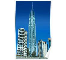 Q1 Building, Gold Coast Australia Poster