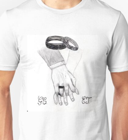 Love - Hands and Rings Unisex T-Shirt