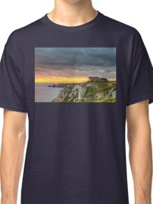 WWII Bunker at Sunset, France Classic T-Shirt