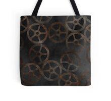 Cog Pattern Tote Bag
