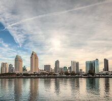 San Diego Skyline by Joshua McDonough Photography