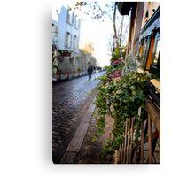 Parisien streetscape Canvas Print