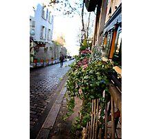 Parisien streetscape Photographic Print