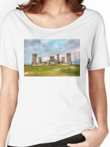 Old Stone Castle, France Women's Relaxed Fit T-Shirt