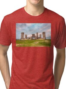 Old Stone Castle, France Tri-blend T-Shirt