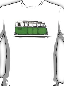 Future Bus - green T-Shirt