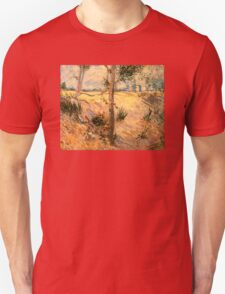 'Trees in a Field on a Sunny Day' by Vincent Van Gogh (Reproduction) T-Shirt
