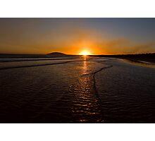 Gerroa Sunset ~ No 1 Photographic Print