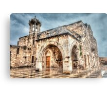 Ancient Church in Byblos Lebanon Metal Print