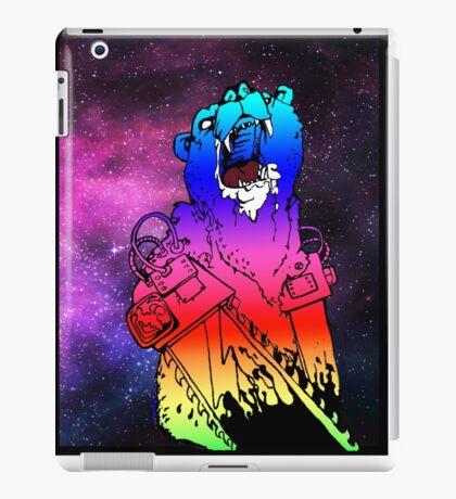 Chainsaw Rainbow Bhurrr iPad Case/Skin
