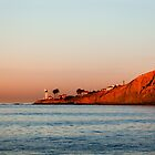 Lighthouse at Sunset, San Diego California by Joshua McDonough Photography