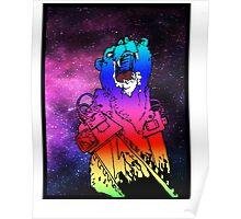 Chainsaw Rainbow Bhurrr Poster
