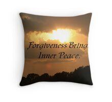 Forgiveness Throw Pillow