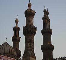 Al Azhar Mosque in Cairo by monirgouda