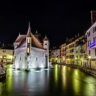 Palais de l'Isle in Annecy, France by Joshua McDonough Photography