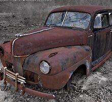 1941 Ford Super Deluxe with 1946 Nash Hood Ornament by AlixCollins