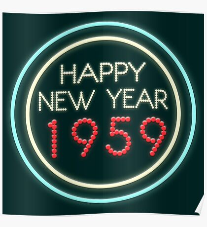Happy New Year 1959 Poster