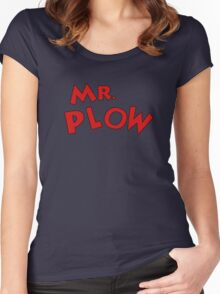 Mr. Plow Women's Fitted Scoop T-Shirt