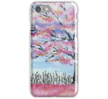 Cherry Blossom tree in Japan iPhone Case/Skin
