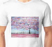 Cherry Blossom tree in Japan Unisex T-Shirt