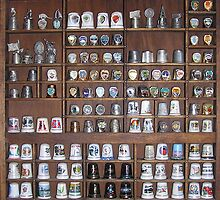 My thimble collection #1 by Sandy Sparks