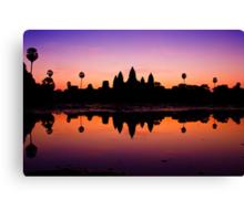Angkor Wat Sunrise Canvas Print