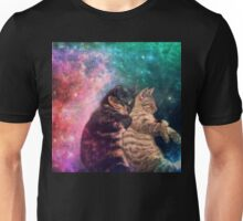Tortilla and Feivel - Snuggles in Space Unisex T-Shirt