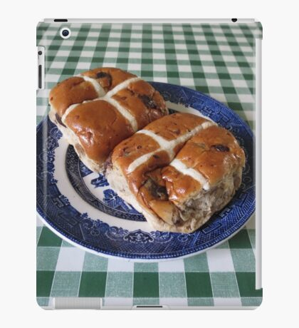 A Foretaste of Easter - Spicy Hot Cross Buns iPad Case/Skin
