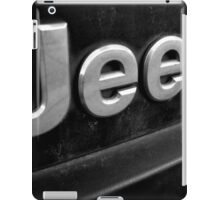 Filthy Jeep iPad Case/Skin