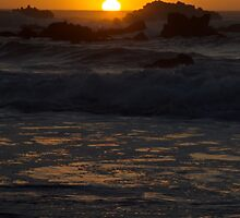 Fort Bragg Sunset by Christina  Ochsner