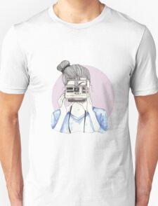 Pastel Polaroid Girl Unisex T-Shirt