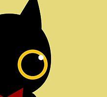 Black cat by amberisamber