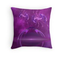 Protectors of the Purple Portal Throw Pillow
