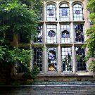 Elegant Manor Window by Jane Neill-Hancock