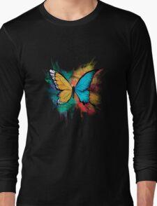 Gynandromorph (Watercolor series 2/5) Long Sleeve T-Shirt