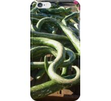 Are These Snakes or Zucchini? iPhone Case/Skin