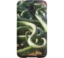 Are These Snakes or Zucchini? Samsung Galaxy Case/Skin