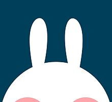 White bunny by amberisamber