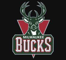 "Milwaukee ""Knuck If You Buck"" Bucks by Nobece"