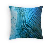 Alien Wood Throw Pillow