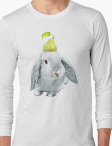 Bunny and a pear Long Sleeve T-Shirt